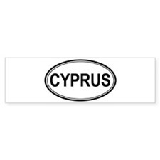 Cyprus Euro Bumper Bumper Sticker