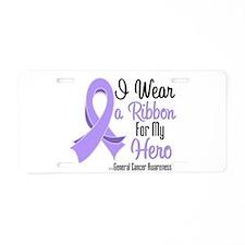 Hero - General Cancer Aluminum License Plate