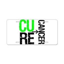 Cure (Lymphoma) Cancer Aluminum License Plate