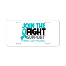 JoinTheFight-Cancer Aluminum License Plate