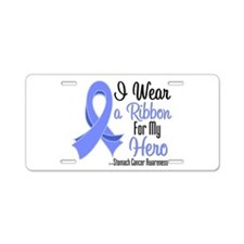Hero - Stomach Cancer Aluminum License Plate