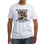 Dog-Gone Foxy Fitted T-Shirt