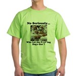 Dog-Gone Foxy Green T-Shirt