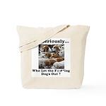 Dog-Gone Foxy Tote Bag