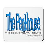 Blue TPR Logo Mousepad
