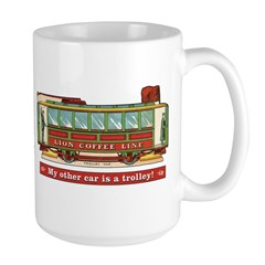 Trolley Car Mug