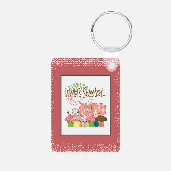 Sweetest Aunt Keychains