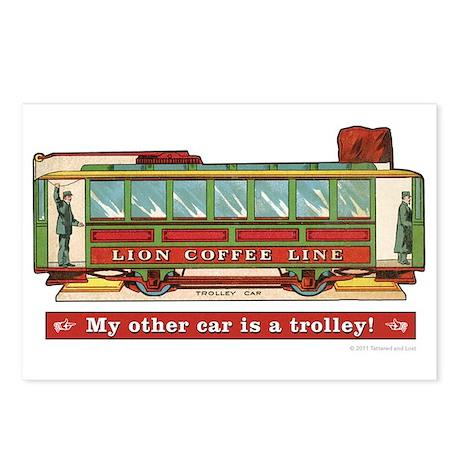 Trolley Car Postcards (Package of 8)