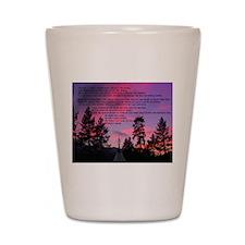 Lakota Great Spirit Prayer Shot Glass