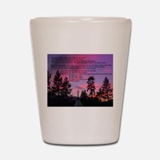 Lakota Great Spirit Prayer Shot Glass