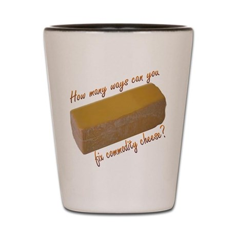 Commodity Cheese Shot Glasses, Buy Personalized Commodity Cheese ...
