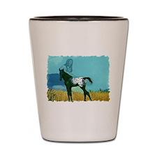 Nez Perce Pony Shot Glass