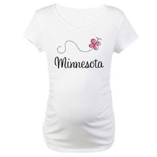 Minnesota Pink Butterfly Shirt