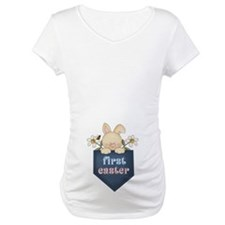 Bunny Baby First Easter Maternity Tshirt