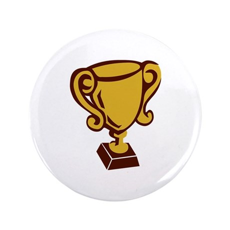 "Trophy - Cup 3.5"" Button"