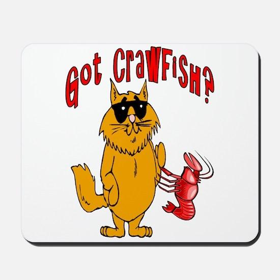 Got Crawfish ? Mousepad