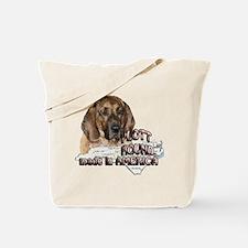 American Plott Hound Tote Bag