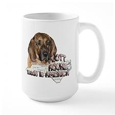 American Plott Hound Mug