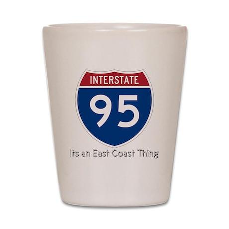 Highway 95 Shot Glass