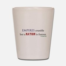 Empires Crumble Shot Glass