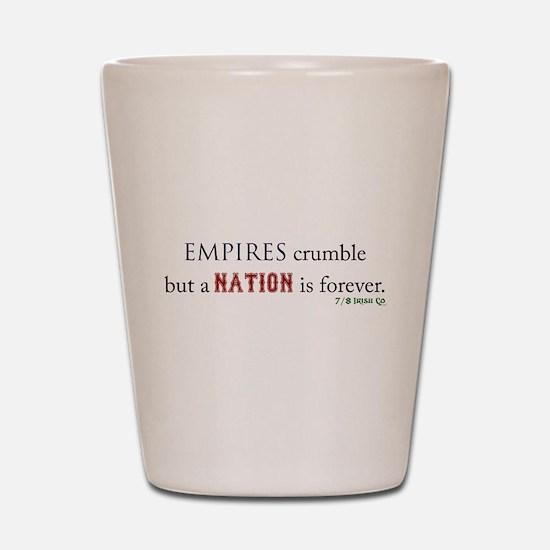 Empires Crumble Shot Glass