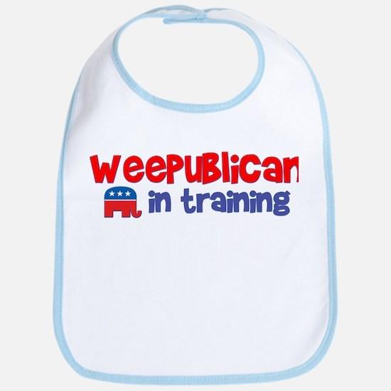 Weepublican in Training Bib