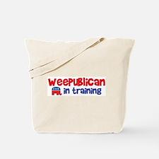 Weepublican in Training Tote Bag