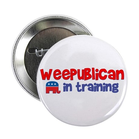 Weepublican in Training Button