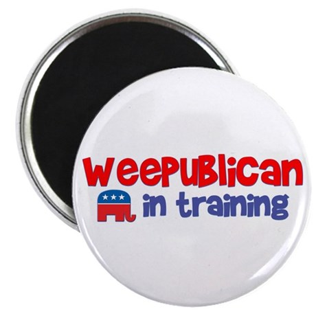 """Weepublican in Training 2.25"""" Magnet (100 pack)"""