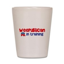 Weepublican in Training Shot Glass