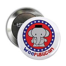 Cute Weepublican Button