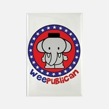 Cute Weepublican Rectangle Magnet