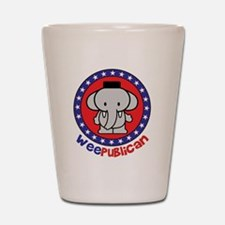 Cute Weepublican Shot Glass
