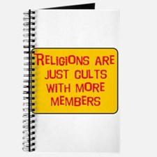 Religions are cults... Journal