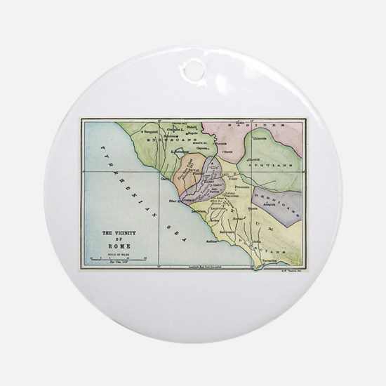 Ancient Rome and Environs (co Ornament (Round)