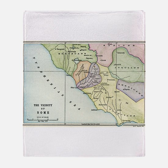 Ancient Rome and Environs (co Throw Blanket