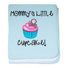 Mommy's Little Cupcake (with baby blanket