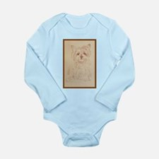 Yorkshire Terrier Long Sleeve Infant Bodysuit