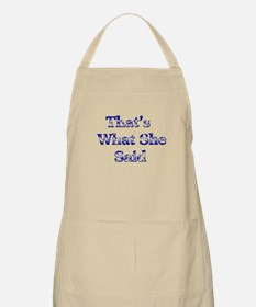 Vintage That's What She Said Apron