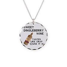 Dingleberry Wine Necklace