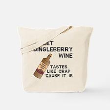 Dingleberry Wine Tote Bag