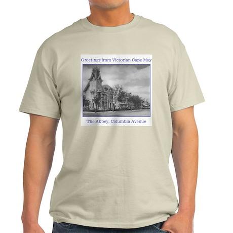 The Abbey, Columbia Avenue Ash Grey T-Shirt