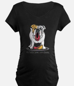 Bulldog Love Shoes T-Shirt