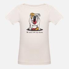 Bulldog Love Shoes Tee