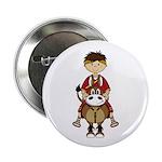 """Roman Emperor Caesar 2.25"""" Button (100 Pk)"""