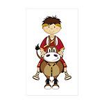 Roman Emperor Caesar Sticker (50 Pk)