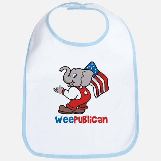 Weepublican & Flag Bib