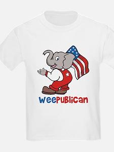 Weepublican & Flag Kids T-Shirt