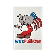 Weepublican & Flag Rectangle Magnet