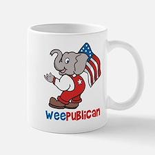 Weepublican and Flag Mug